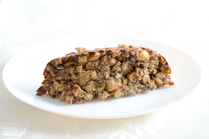 farsz z wątróbki i mięsa