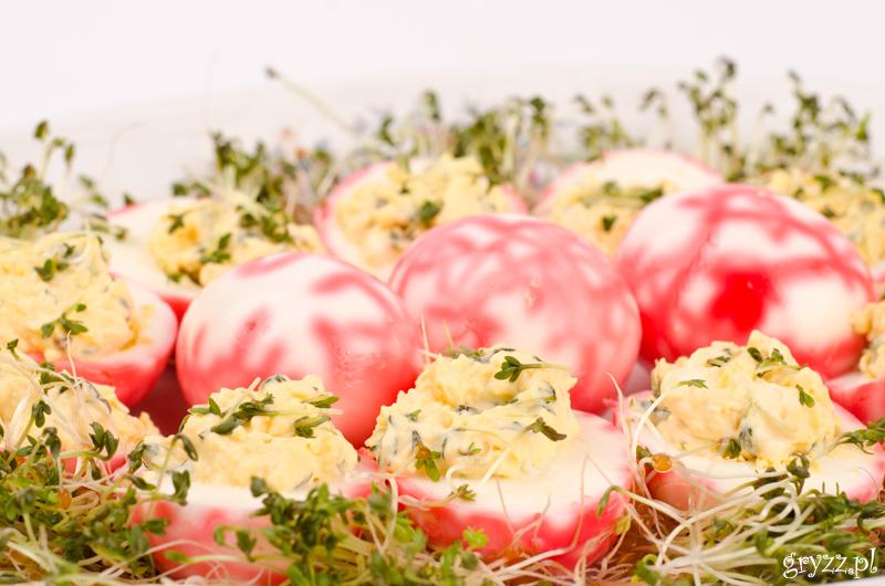 Jaja faszerowane rzeżuchą