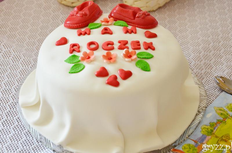 Pierwszy tort mojej córeczki :)