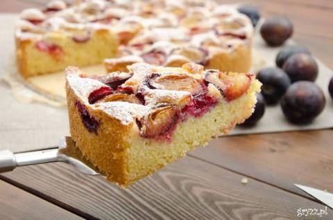 Szybkie ciasto ze śliwkami