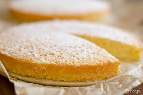 Genueńskie ciasto migdałowe wg Julii Child