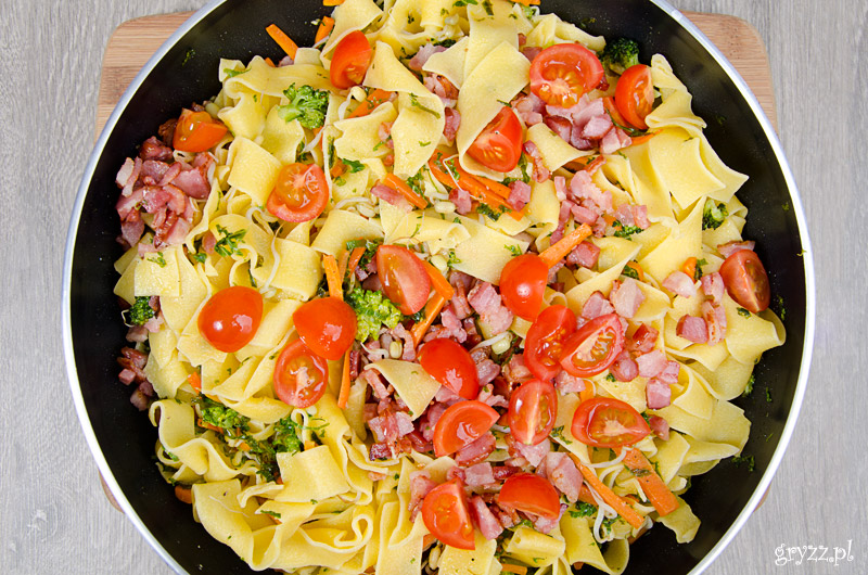 Zimowe pappardelle