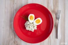 Jaja w sosie tatarskim
